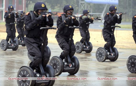 Anti-Terrorism Drills for Beijing 2008 Olympic Games