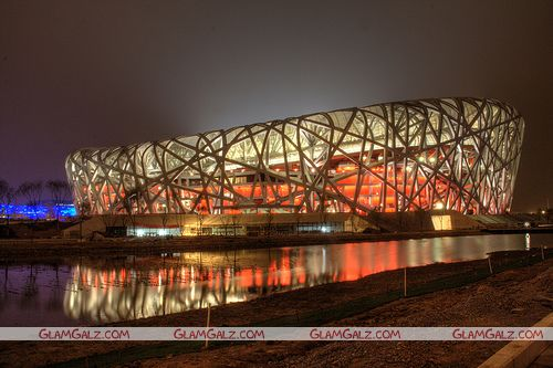 Signature Stadium of Beijing 2008 Olympics