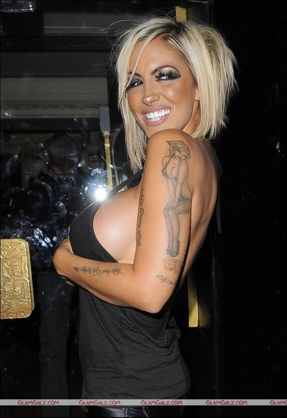Jodie Marsh at Daylight Robbery Premiere