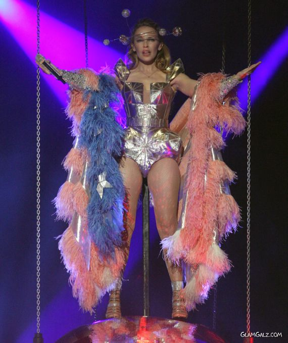 Kylie Minogue in Funky Outfits