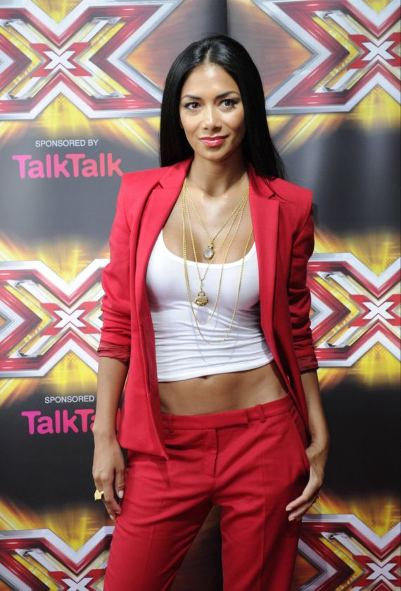 Stylish Nicole Scherzinger At Cardiff X Factor Auditions