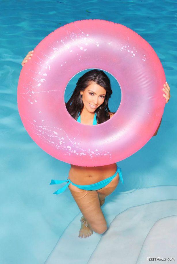 Miss Kardashian Bikini Photoshoot in Los Angeles