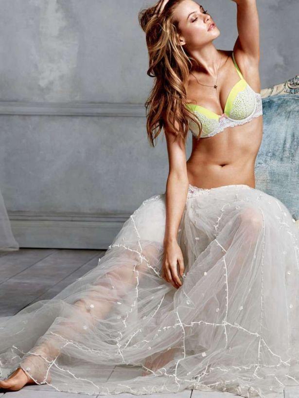 Behati Prinsloo For Victoria's Secret Shoot 2014