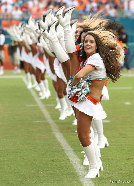 Most Beautiful Cheerleaders