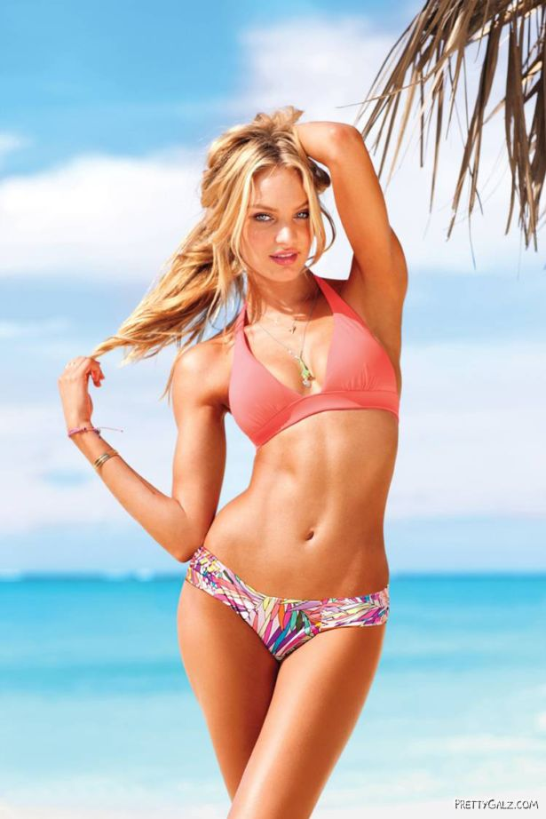 Candice Swanepoel Exclusive Victorias Secret 2012 Shoot