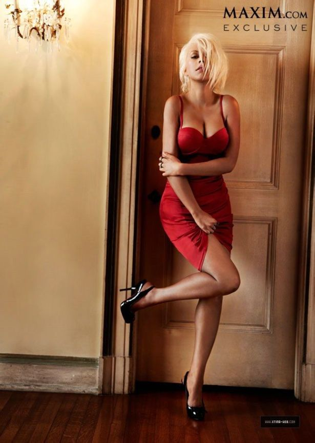 Christina Aguilera Exclusively For Maxim
