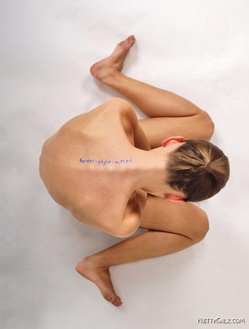 Sexiest CSS Body Artwork