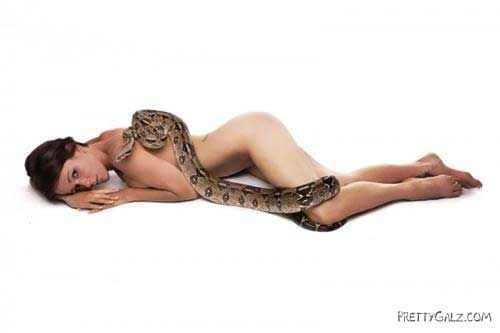 Galz and Snakes Crazy Photography