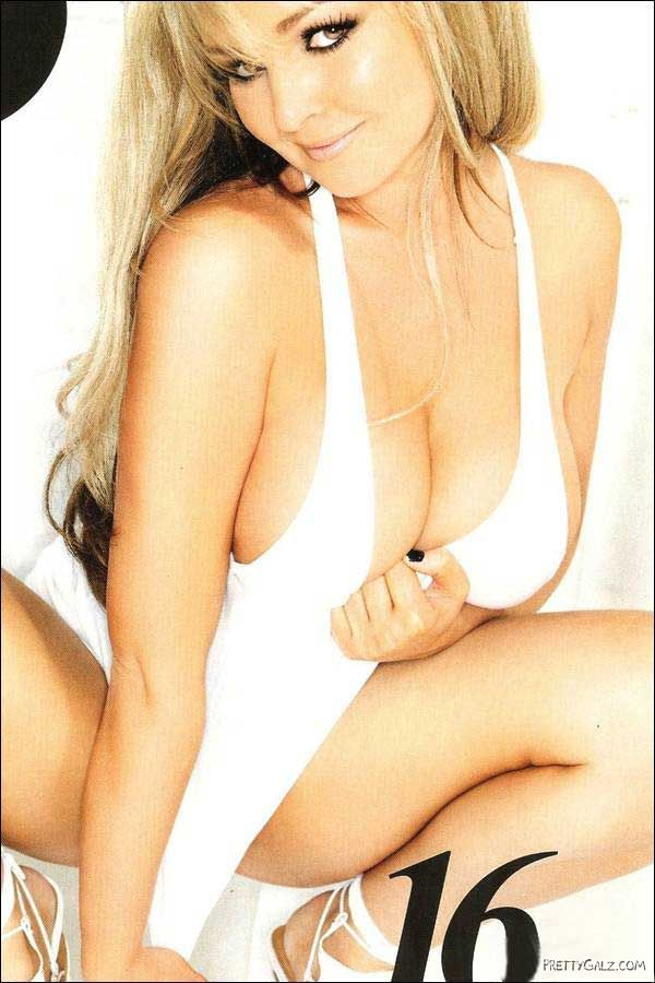 Jennifer Ellison in 2009 Issue of Nuts Mag