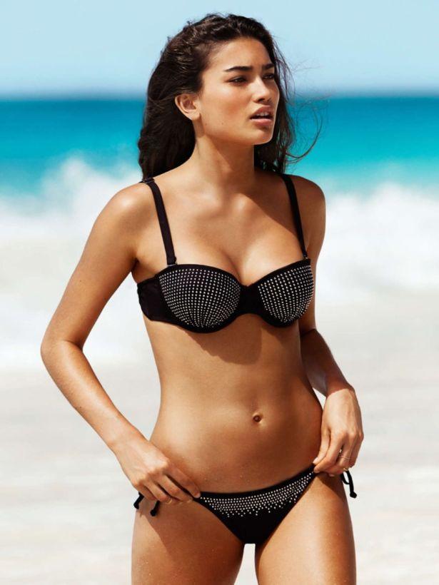 Kelly Gale For HnM Swimwear June 2014