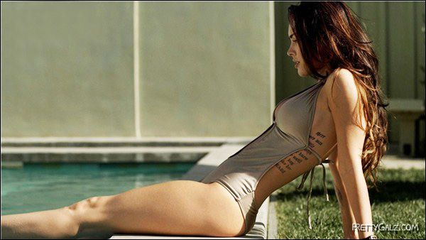 Rest Time for Lovely Megan Fox