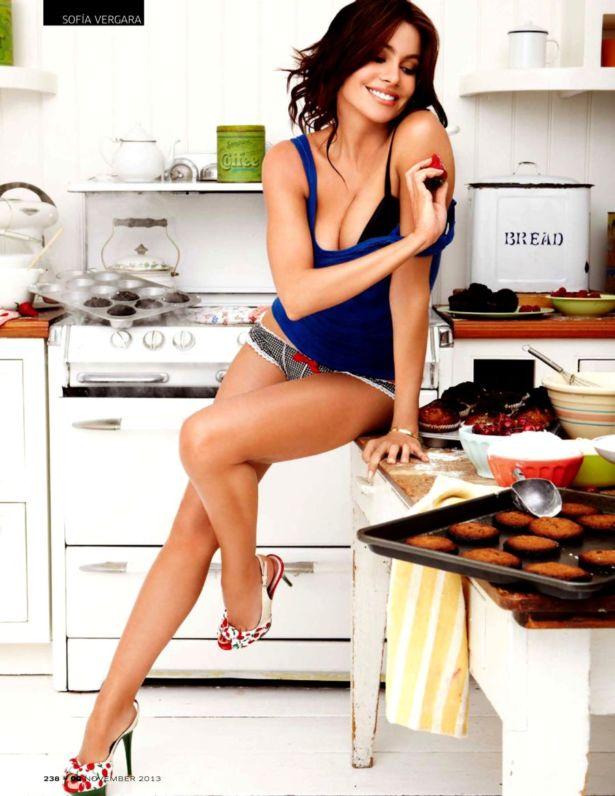 Sofia Vergara Shoots For GQ India Magazine