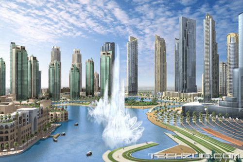 Worlds Largest Fountain In Dubai