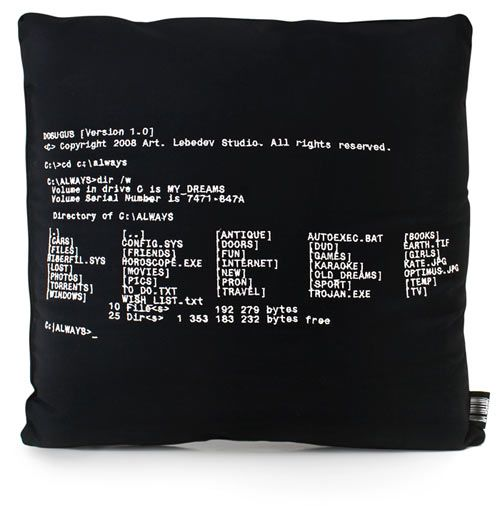 Creative DOS Pillow