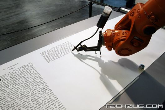 Weird Holy Robot Writing Bible