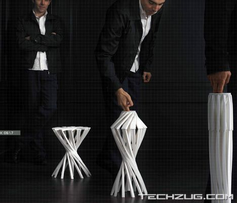 OneShot - Folding Chair by Patrick Jouin