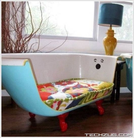 Creative Old Garbage Furniture