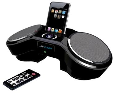 AVLabs iPod Dock Alarm Clock