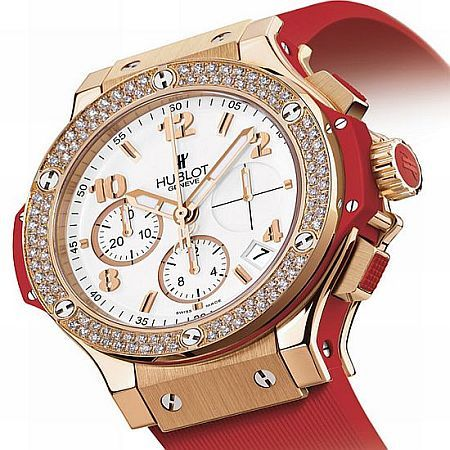 Red Diamond Ladies Watch