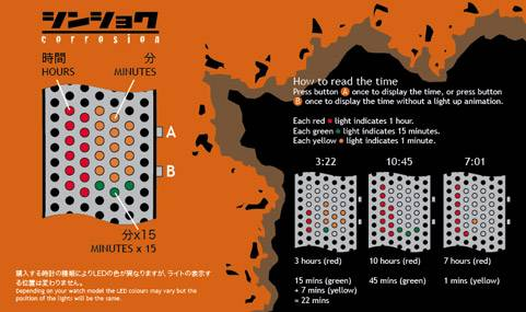 Shinshoku LED Watch